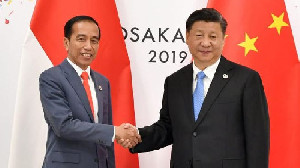 Jokowi Ajak Xi Jinping Uji Coba Kereta Cepat 2022