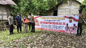 Sambut Hari Bhayangkara ke-75, Polsek Setia Bakti Salurkan Bantuan Untuk Masyarakat