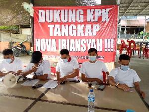 MPA Desak KPK Lakukan Tes Swab PCR Pada Nova Iriansyah Secara Independen