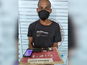 Pria Aceh Utara Diciduk Polisi Saat Main Judi Online, Bawa 7 Paket Sabu
