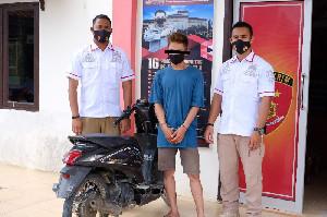 Curi Kambing Pakai Motor Matic, Seorang Lekaki di Aceh Utara Diciduk Polisi