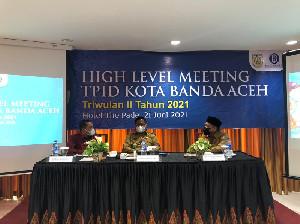 Sambutan Aminullah Usman Dalam Acara HLM TPID Banda Aceh Triwulan II Tahun 2021