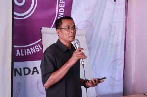 AJI Menagih Janji ke Kapolda Aceh untuk Menangkap Pelaku Pembakar Rumah Wartawan di Agara