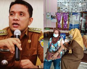Kuta Alam Banda Aceh, Lansia 80 Tahun Juga Ikut Vaksin