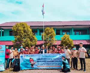 Edukasi Siaga Bencana, Tim PKM-PM UTU Sosialisasikan Gesit di MTSS Nurul Huda