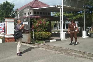 Lanjutkan Aksi di Kejati Aceh Tamiang, Aktivis Demo Tunggal