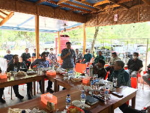Dorong Kemajuan Ekonomi, Kepala BI Aceh dan Bupati Abdya Bahas Integrated Farming