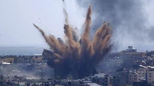 Jet Tempur Israel Serang Gaza Lagi, Gencatan Senjata?