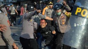 Pendemo RKUHP Ditangkap, Dalih Langgar Prokes