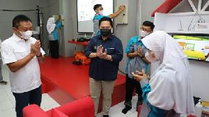 Laboratium Fiber Optic Didirikan Telkom Untuk SMK