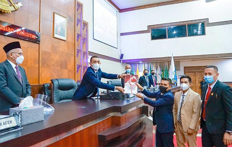 Pansus LKPJ DPRA Minta Pemprov Aceh Evaluasi Kinerja BPR Mustaqim