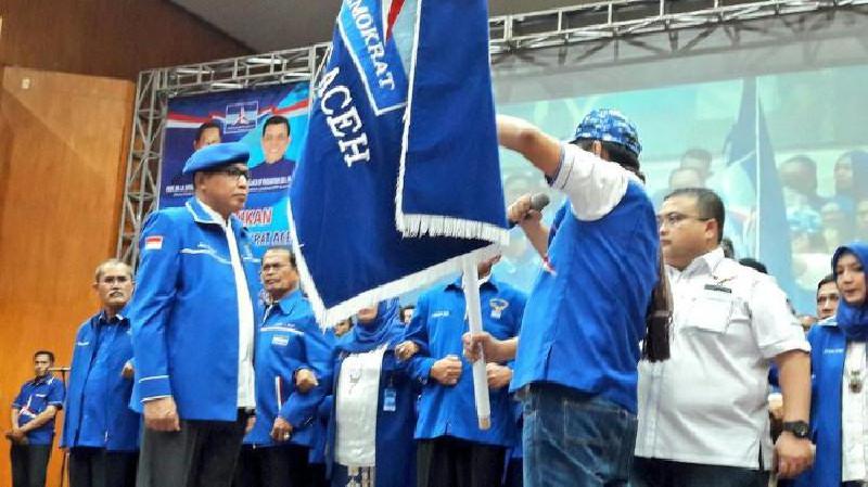 18 DPC Minta Nova Iriansyah Pimpin Demokrat Aceh Kembali
