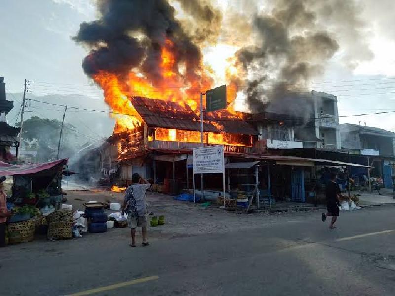 Kebakaran Pemukiman Dominasi di Aceh, Kerugian Mencapai Rp 14,9 Miliar