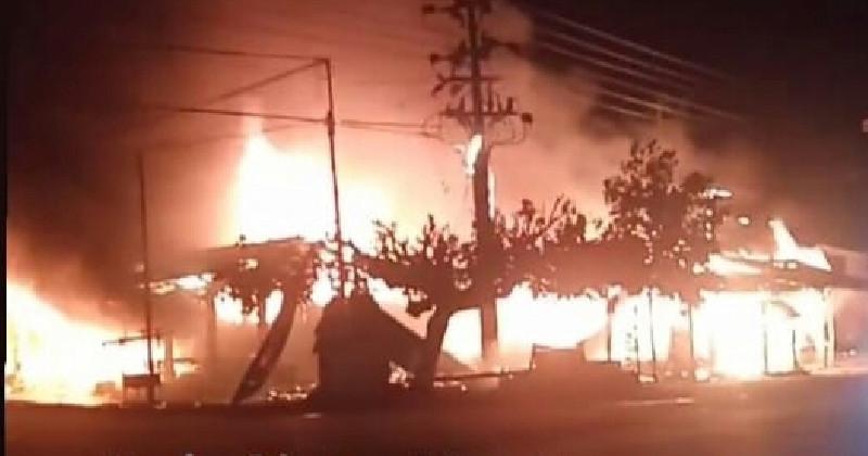 10 Unit Ruko di Aceh Tamiang Ludes Terbakar, Ini Dugaan Penyebabnya