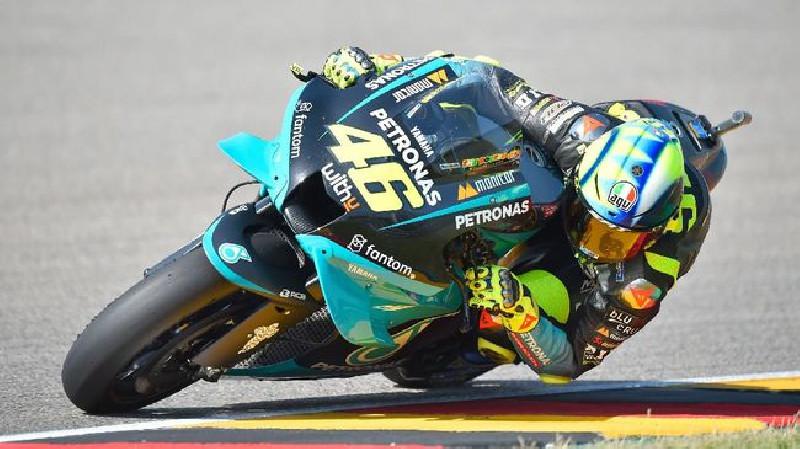 Usai Finis 14 MotoGP Jerman, Rossi Marah kepada Wartawan