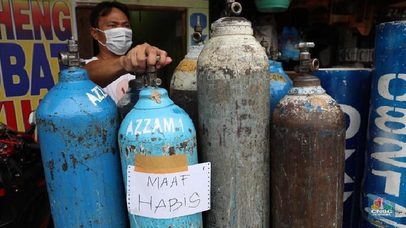Heboh Tabung Gas Oksigen Kini Jadi Rebutan