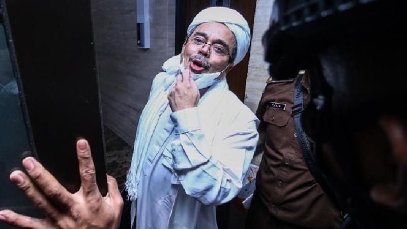 Habib Rizieq Berkata Kepada Hakim: Sampai Jumpa di Pengadilan Akhirat