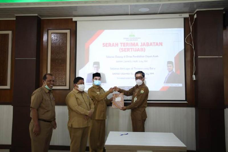Zahrol Fajri Jabat Kepala Dinas Pendidikan Dayah Aceh
