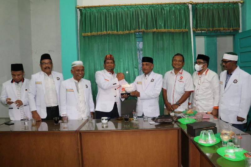 Kunjungi PERTI, PKS Aceh Harapkan Dukungan Ormas Islam