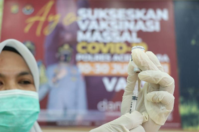 Aceh Utara Buka Vaksinasi Massal di Aula Tri Brata Mapolres, Dimulai 10-30 Juni
