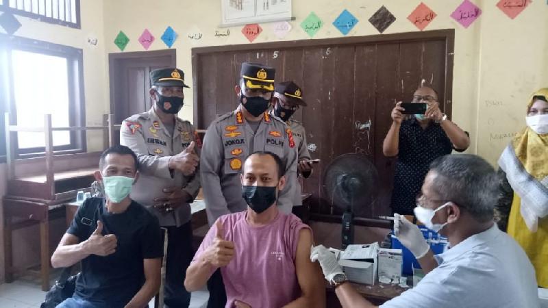 Hari Ke Lima, Warga Telah Divaksin Capai 2.493, Berakhir Sudah Vaksinasi Massal Banda Aceh