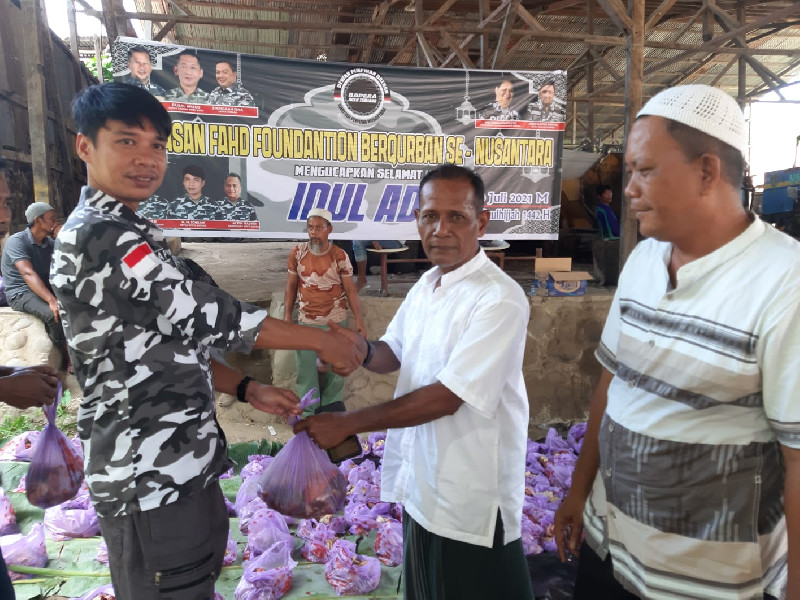 BAPERA Aceh Tamiang Qurban 2 Ekor Sapi