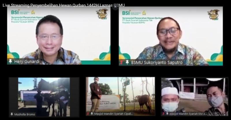 BSI Salurkan 15 Hewan Kurban ke Kantor Cabang Provinsi Aceh