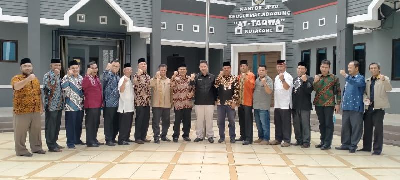 Sekda dan Kadis Syari'at Islam Aceh Tenggara Terima Kunker Pemkab Bener Meriah