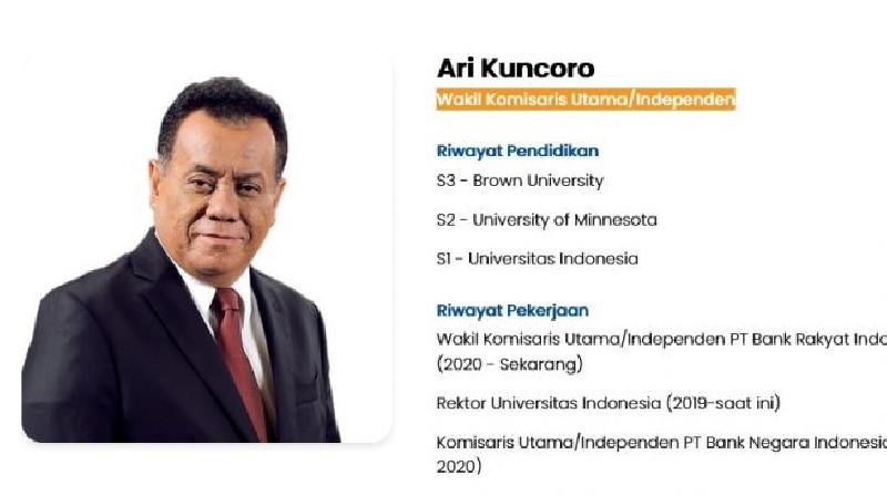 Rektor UI Trending Teratas di Twitter