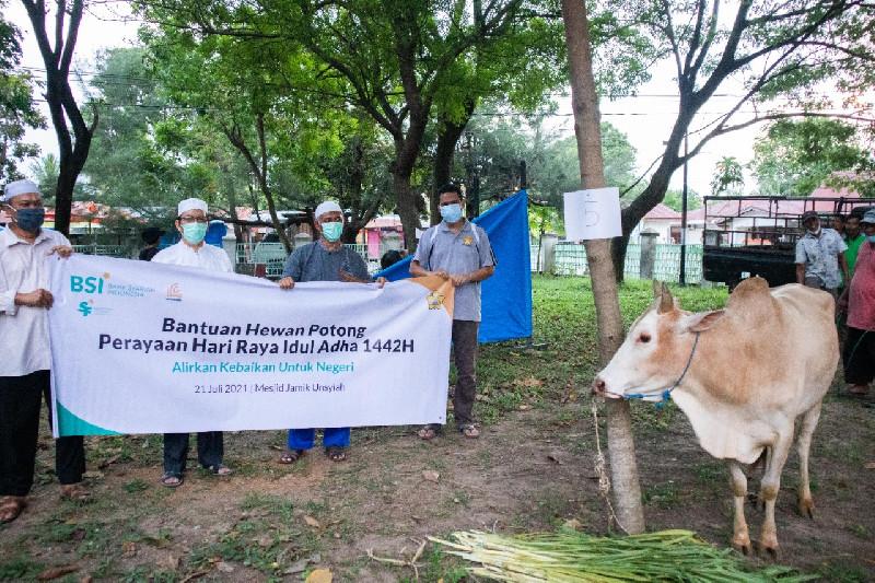 Rumah Amal USK Ajak Masyarakat Lebih Peduli Lingkungan Lewat Program Green Qurban 1442 H/2021