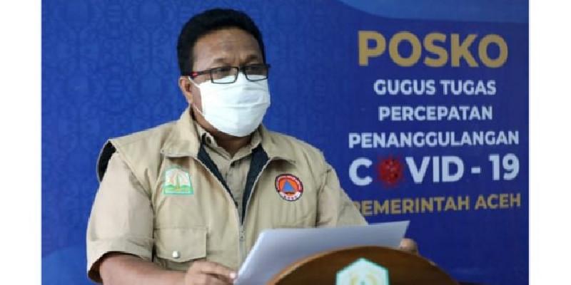 Aceh dan Gorontalo Catat Kasus Covid-19 Paling Rendah