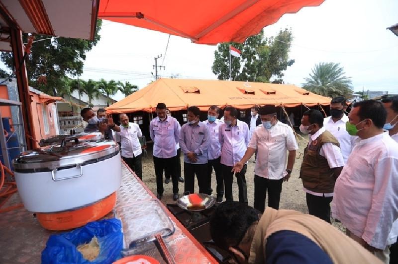BNPB Berikan Bantuan Dapur Umum, Pemko Banda Aceh Ucapkan Terimakasih