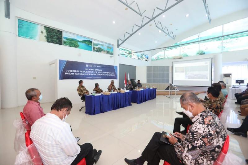 Gubernur Aceh Minta BPKS Bentuk Tim Khusus Untuk Selesaikan Persoalan  Regulasi