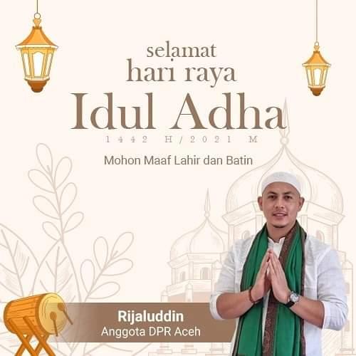 rijaluddin dpra idul adha