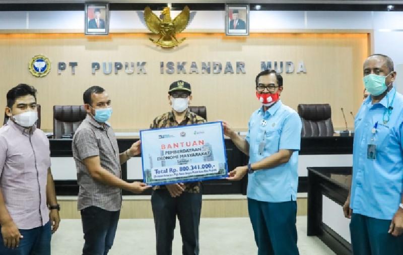 PT PIM Salurkan Bantuan Senilai Rp 800.341.000 Untuk Masyarakat