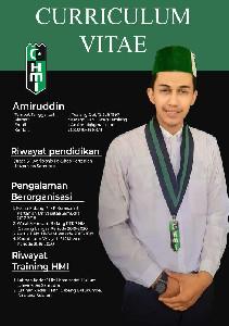 Amiruddin Terpilih Sebagai Formature HMI Cabang Langsa Periode 2021-2022