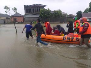 Banjir Aceh Besar, 428 Warga Mengungsi
