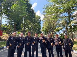 8 Putra Terbaik Akpol Asal Aceh Dilantik Oleh Presiden Hari ini
