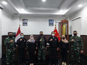 PBESI Aceh Bersilahturahmi Dengan Kodam IM
