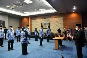 Mengisi Kekosongan Posisi, 16 Pejabat Eselon 3 dan 4 Dilingkungan Pemerintah Aceh Dilantik