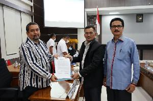 Adakan Pertemuan, Pansus DPRA Bagian Biro PBJ Usut ULP Aceh Lambat Lelang APBA