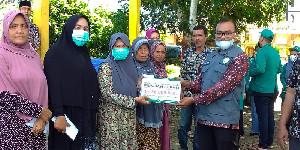 BMA Salurkan Bantuan Kepada Korban Abrasi Sungai Aceh Selatan