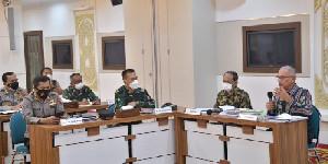 Satgas Covid-19 Aceh, Bahas Pelaksanaan Ingub PPKM Mikro Level 4 di Banda Aceh