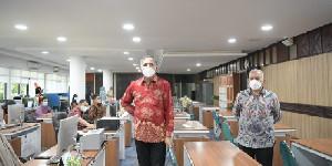 Nova Bersama Sekda Aceh Pantau BEREH dan Protkes Kantor Gubernur Aceh