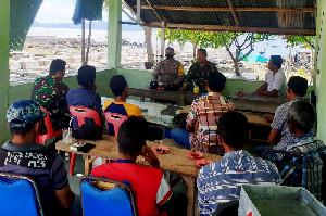 TNI, Polri dan Nelayan Pulo Nasi Komitmen Jaga Kelestarian Ekosistem Laut