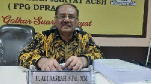 Soal LKS, Golkar Akan Kaji Secara Komprehensif Agar Rakyat Aceh Tidak Rugi