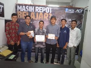 Mahasiswa Lhokseumawe dan Aceh utara Lakukan Galang Dana dan Diserahkan ke ACT