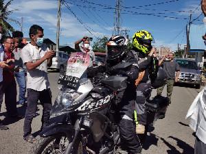 Dari Aceh KBA dan Istri Touring Keliling Indonesia Sampai Papua