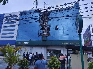Walau Terbakar, Operasional Bank Aceh KPO Tetap Berjalan Normal