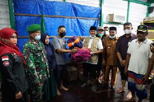 Mawardi Ali Tinjau Lokasi Banjir di Gampong Gue Gajah